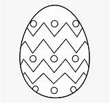 Egg Coloring Clipart Easter Cartoon Netclipart sketch template