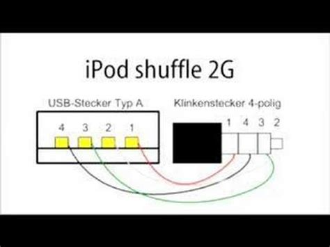 Ipod Charger Wiring Diagram by 2nd Ipod Shuffle Sync Cable