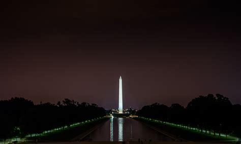 Washington Monument At Night  Andy's Travel Blog