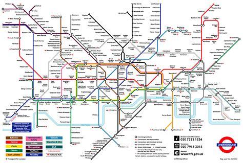 london underground tube map marc leacock