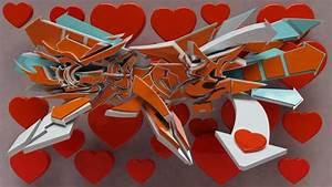 Graffiti Word Love || Graffiti Tutorial