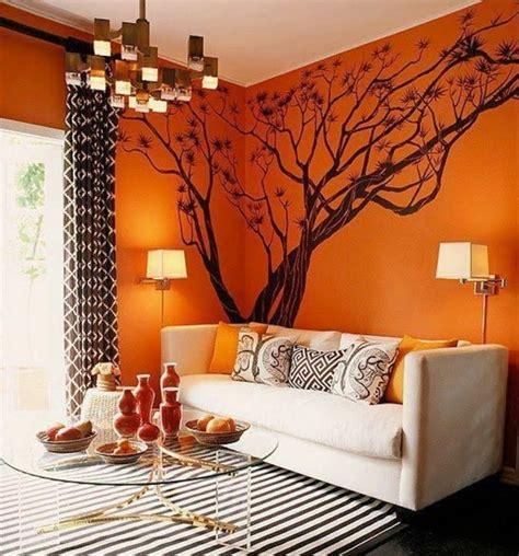 canap vintage marron couleur peinture salon conseils et 90 photos pour vous