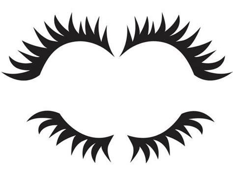 eyelash template free cliparts real eyelashes free clip free clip on clipart library