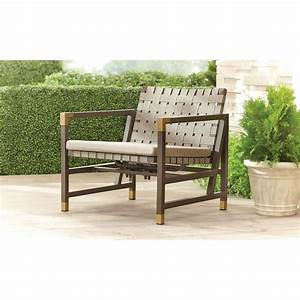 Brown Jordan Form Patio Motion Lounge Chair in Sparrow ...