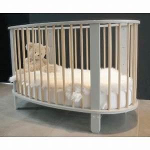 Lit Bebe Gris : lit b b cocon 60x120 gris bambins d co ~ Teatrodelosmanantiales.com Idées de Décoration