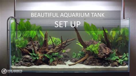 Aquascape Tutorial by Aquascape Tutorial Guide Beautiful Aquarium Tank Setup
