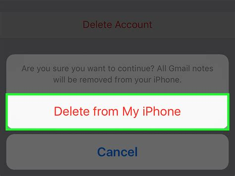 how to delete emails on iphone 5 how to remove an email account from an iphone 6 steps