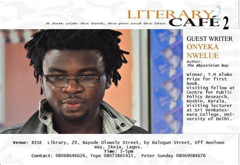 literary cafe  date   book    idea