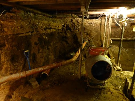 hse acts  dangerous basement excavation