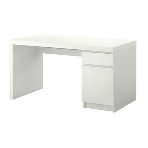 malm bureau blanc ikea
