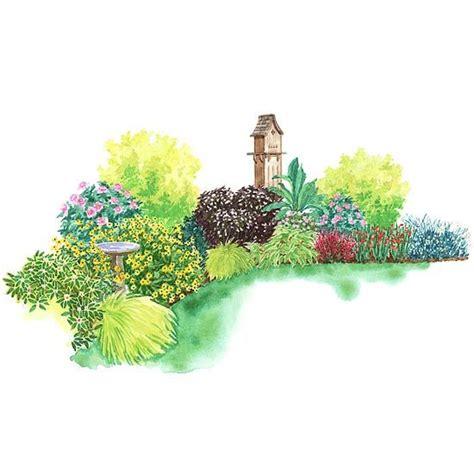 all season garden plan garden plans for shady spots