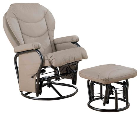 rocker glider recliner with ottoman reclining glider rocker with ottoman recliners with