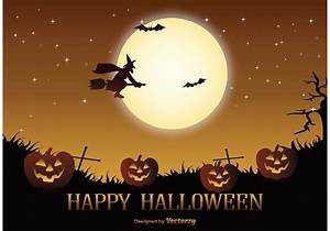 Halloween Party Flyer Halloween Vector Illustration Download Free Vectors
