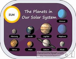 Space : planets_in_solar_system_clipart_10 : Classroom Clipart
