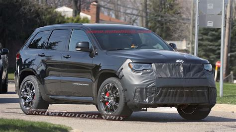 trackhawk jeep srt 2016 jeep grand cherokee srt trackhawk spy shots by kgp