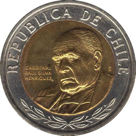 500 Pesos Chile Numista