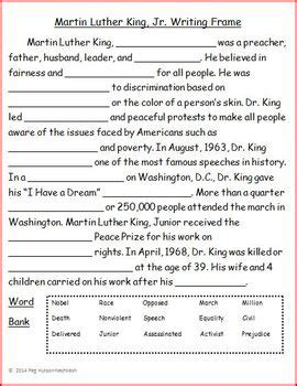 » Free Martin Luther King, Jr Miniunit Lesson Plan Of Happiness
