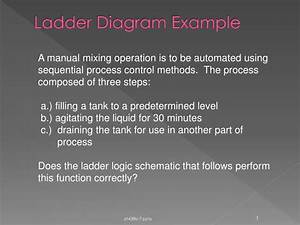 Ppt - Ladder Diagram Example Powerpoint Presentation