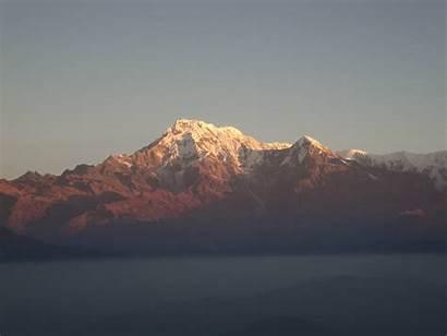 Annapurna Pokhara Dakshin Sunrise Watchtower Near Nepal