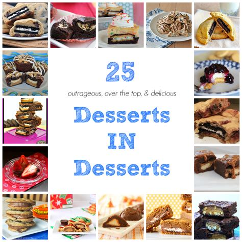25 outrageous desserts in desserts