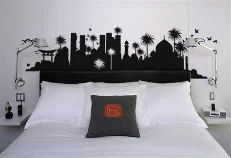 bedroom wall sticker freshome