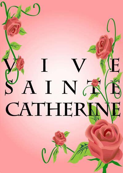 Carte De Sainte Catherine à Imprimer by Carte Sainte Catherine Envoyer Cette Carte Vive Sainte