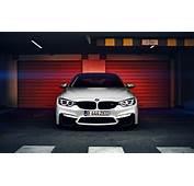 Wallpaper BMW M4 Coupe F82 White Front Automobile