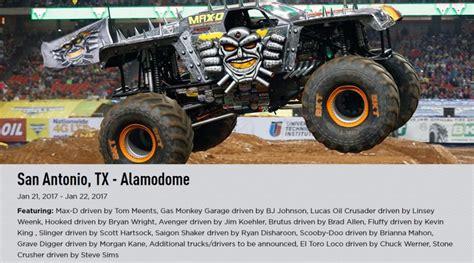 monster truck jam san monster jam truck tickets