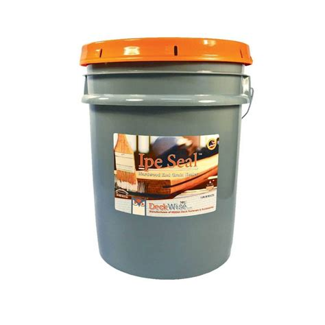 ipe seal  grain sealer  gallon bucket deckwise