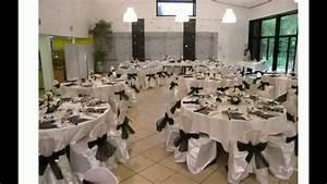 Décoration Salle Mariage : idee deco salle mariage youtube ~ Melissatoandfro.com Idées de Décoration