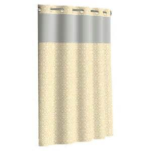 Blue Shower Curtain Liner by Flex On By Hookless Medallion Shower Curtains Target