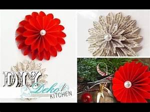 Deko Kitchen : diy deko dahlien aus papier selber machen deko kitchen youtube ~ A.2002-acura-tl-radio.info Haus und Dekorationen