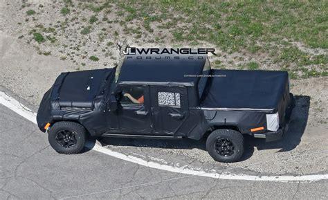 2019 jeep wrangler pickup truck jeep wrangler pickup truck jt spy pics 2018 jeep