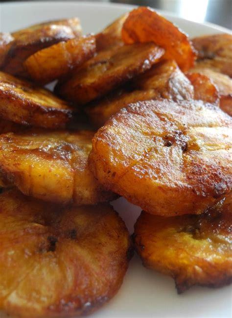 sweet caramel cinnamon baked plantains recipe plantain