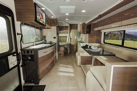 view interior lounge winnebago rvs