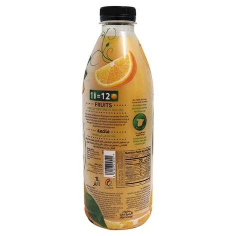 1litre almarai andalusian juice orange