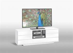 Meuble Tv Blanc Laqué : meuble tv d angle blanc laqu id es de d coration int rieure french decor ~ Teatrodelosmanantiales.com Idées de Décoration