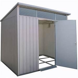 abri de jardin metal duramax 432 m2 ep05 mm leroy merlin With abri de jardin leroy merlin metal