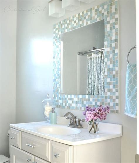 5 diy mirror projects reflect a larger space tile