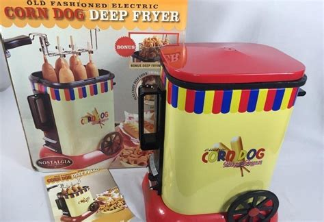fryer corn dog deep unicun