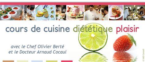 atelier de cuisine gourmande cuisine diététique plaisir avec le docteur arnaud cocaul