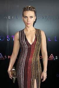 SCARLETT JOHANSSON at Ghost in the Shell Premiere in New ...