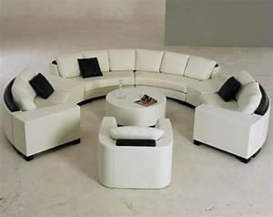 Canapé D Angle Conforama : le canap d 39 angle arrondi comment choisir la meilleure variante pour votre salon ~ Teatrodelosmanantiales.com Idées de Décoration