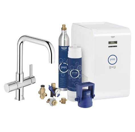 Grohe, BLUE Chilled   Sparkling U Spout, Water Filter Tap