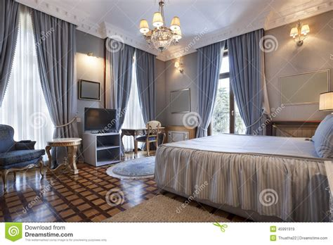 chambre de villa intérieur d 39 une chambre à coucher classique de style en