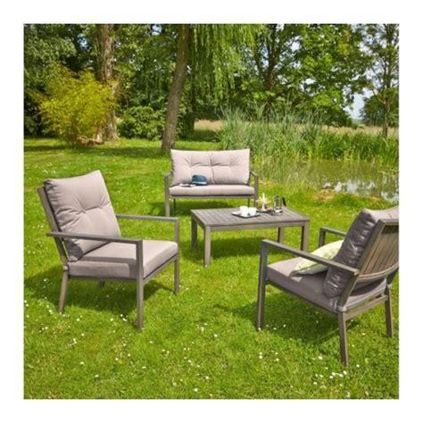 Salon Bas De Jardin Pas Cher by Carrefour Salon De Jardin Bas Honfleur 1 Table Basse