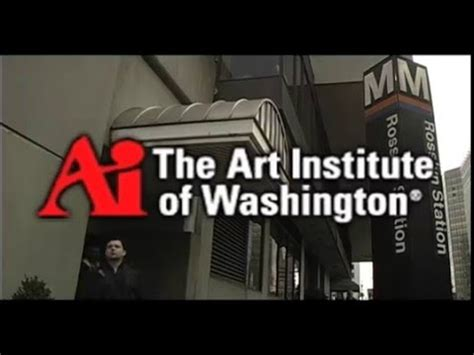 art institute  washington promotional video youtube