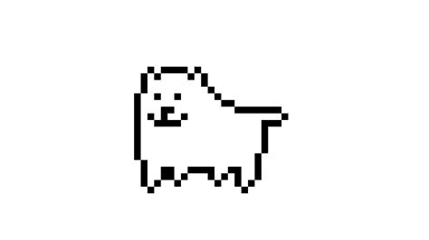 Undertale Annoying Dog Wallpaper Pixilart Undertale Anoying Dog Gif By Pixelatedbyme