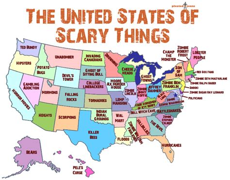 Best Halloween Attractions In Nj by This Is What Illinosians Are Most Afraid Of