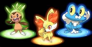 Pokemon Center X Y Generation 6 Fennekin Froakie Chespin ...